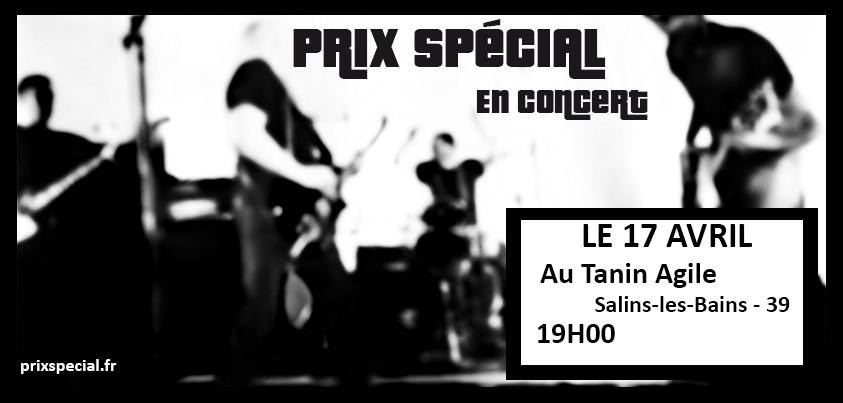 Affiche concert Tanin Agile